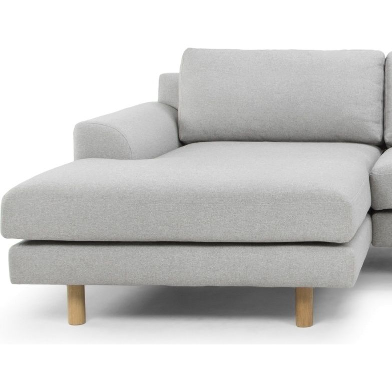 Sonia 3 seater sofa left chaise in stone grey buy sofas for 2 seater chaise sofa for sale