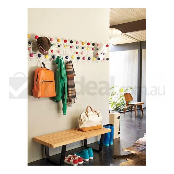 eames replica multicolour hang it all wall rack buy wall shelves hooks 164401. Black Bedroom Furniture Sets. Home Design Ideas