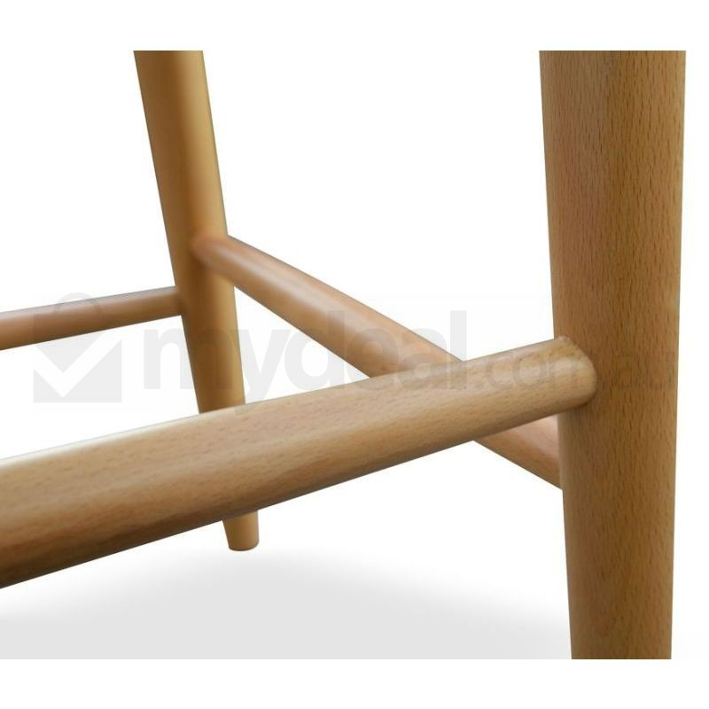 Black Wishbone Cord Bar Stool Hans Wegner Replica Buy