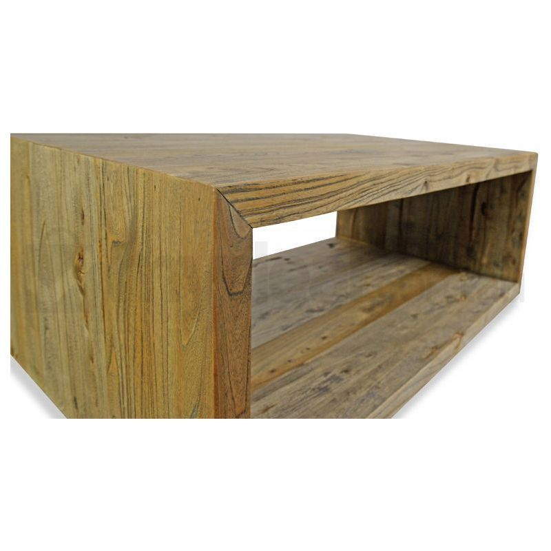 Floyd Reclaimed Elm Wood Rustic Coffee Table Buy Coffee Tables