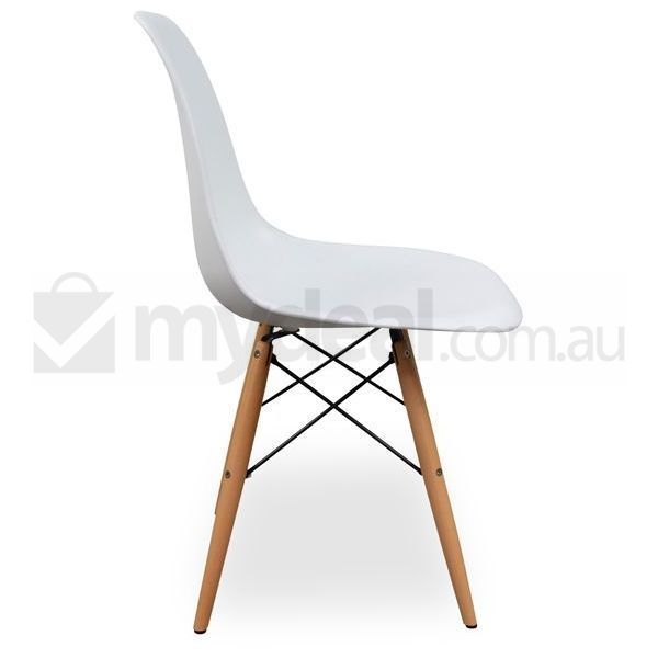 White DSW Eames Replica Dining Side Chair Set Of 6 Buy Furniture