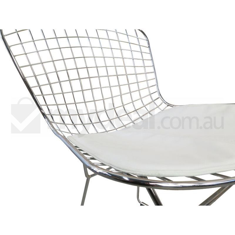 Harry Bertoia Replica Wire Side Chair In White Buy