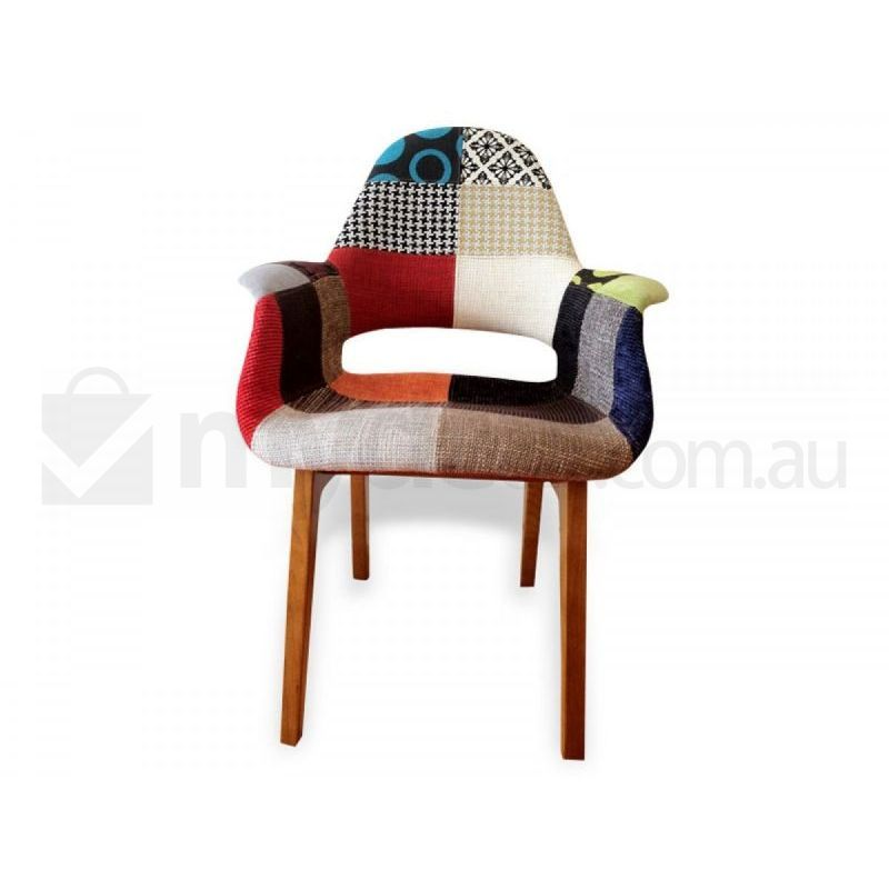 2x replica eames dining chair multicolour wool buy sets of 2 for Eames side chair replica