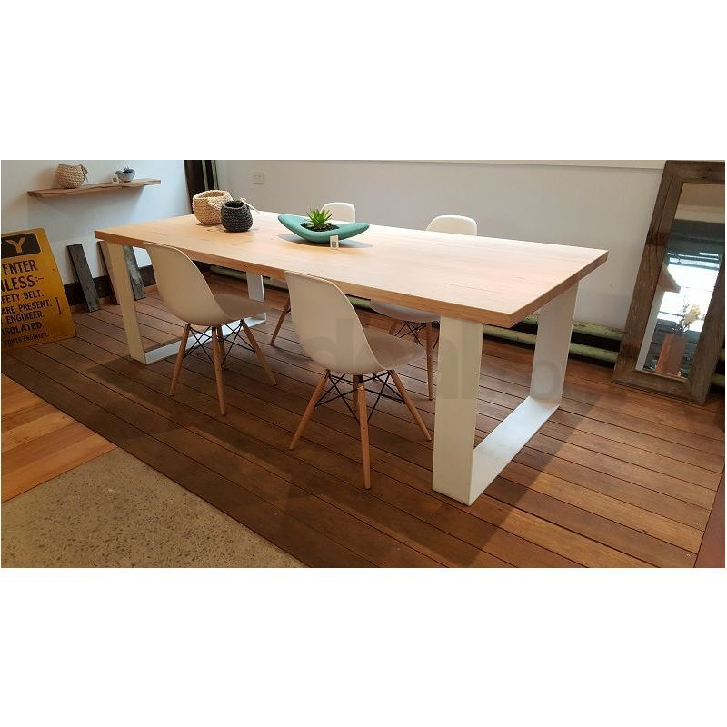 Grange victorian ash timber white dining table 3m buy for Table 3m