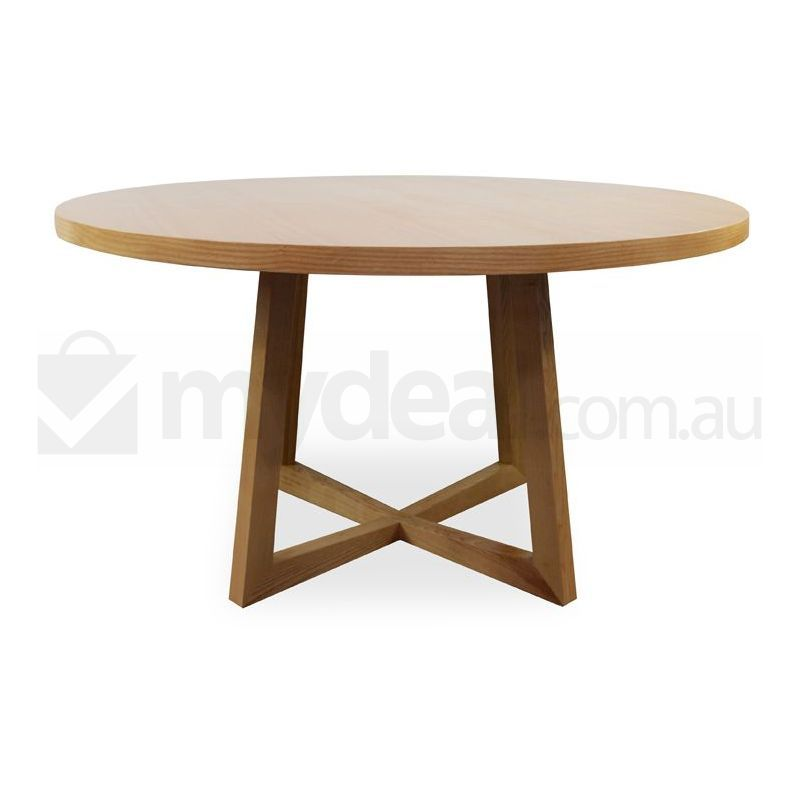 Zodiac Modern Wooden Round Dining Table in Natural Buy Round