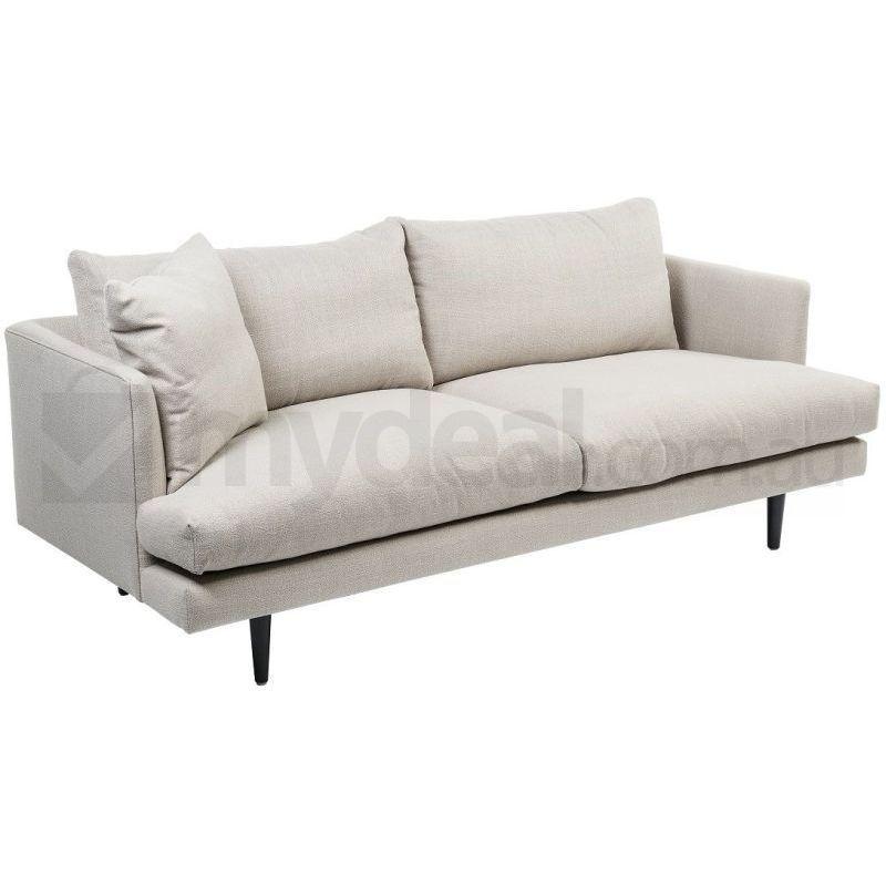 addison beige neutral fabric sofa wide 2 5 seater buy couches 163969. Black Bedroom Furniture Sets. Home Design Ideas