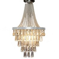 Olivia French Empire Glass Crystal Chandelier