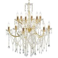 Marie Therese 12 Light Crystal Chandelier - Allure