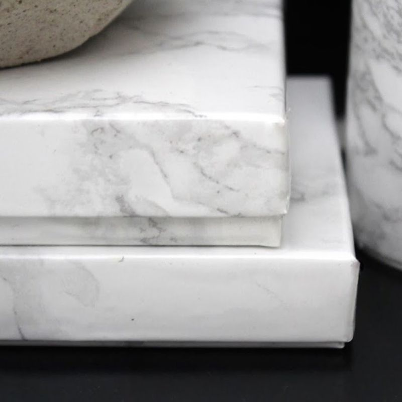 Luxury Gloss White Marble Gift Wrapping Paper 15m Buy