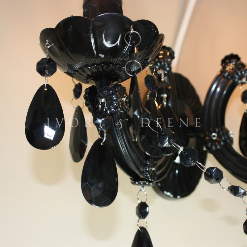 Marie Therese Acrylic Black 2 Arm Wall Chandelier Buy Wall Lights
