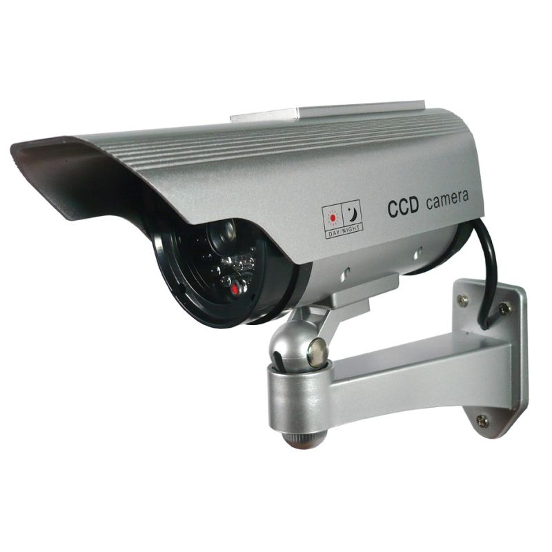 Red Light Camera Check: Sunforce Solar Dummy Security Camera With LED Light