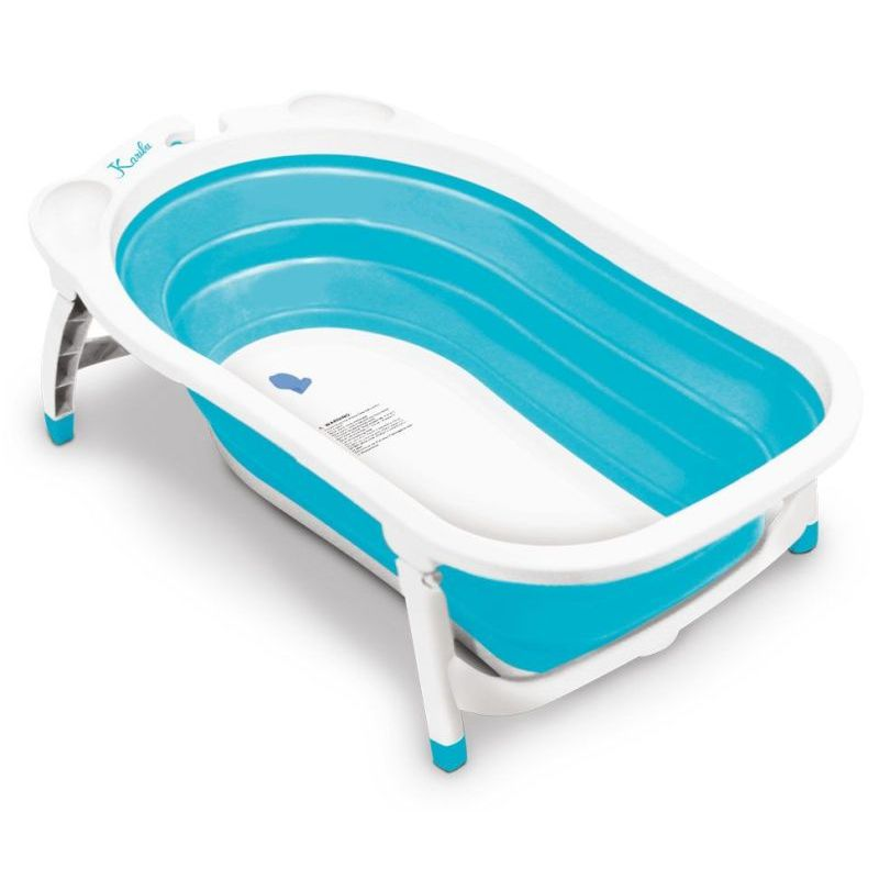 Roger Armstrong Flat and Foldable Baby Bath in Blue | Buy Baby Bathtubs