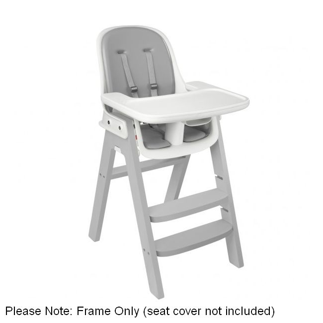 h m s Remaining  sc 1 st  MyDeal & Oxo Tot Sprout Wooden High Chair Frame in Grey | Buy High Chairs