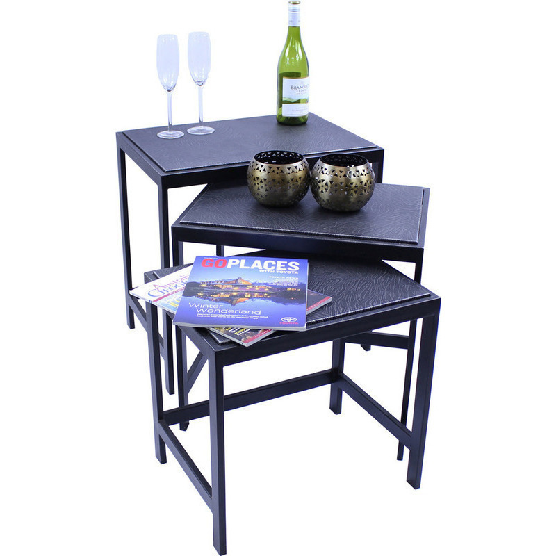 Iron Zebra Patterned Nested Side Table Set of 3 Buy  : LR 075501 from www.mydeal.com.au size 800 x 800 jpeg 110kB