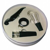 4 piece Wine Accessory Gift Set for Wine Lovers