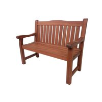 Hamburg Outdoor Classic Shorea Garden Bench 1.3m