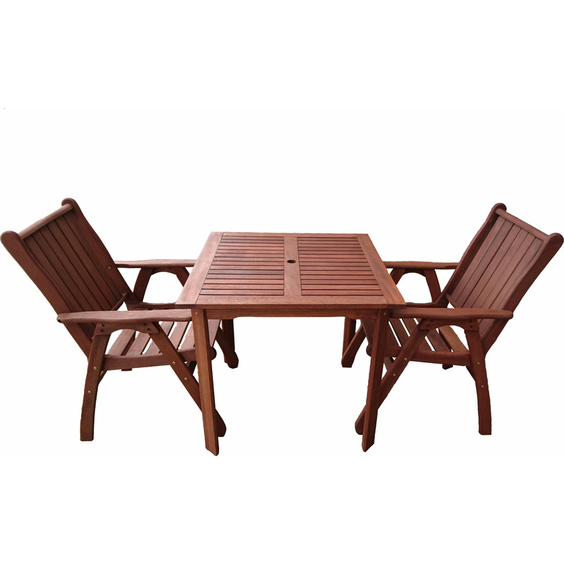 3pc Wooden Outdoor Dining Table amp Chair Set 80cm Buy  : FRT 154 MFC 21002 from www.mydeal.com.au size 800 x 800 jpeg 100kB