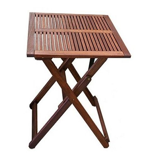 Wooden Outdoor Dining Table Square Cm Foldable Buy Outdoor - Square wood outdoor dining table