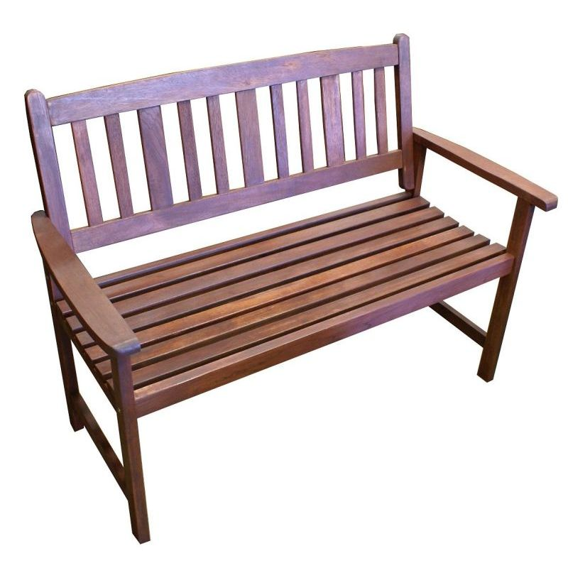 Outdoor 2 Seat Wooden Garden Chair Park Bench Buy