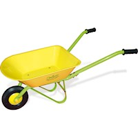 Vilac Kids Metal Push Along Garden Wheelbarrow