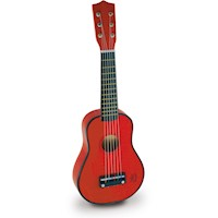 Vilac Kids Red Guitar Classic Musical Instrument