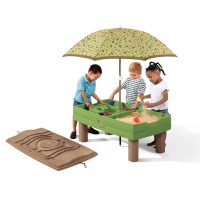 Kids Sand and Water Activity Centre with Umbrella