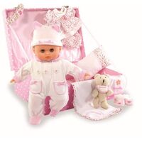 Petitcollin My Beloved Baby in Suitcase Doll Set