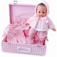 Petitcollin My Baby Love in a Suitcase Doll Set