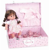 Petit Chou Petitcollin French Doll & Tea Set
