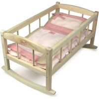 Kid's Doll Cradle for 50cm Petitcollin Ecolo Dolls