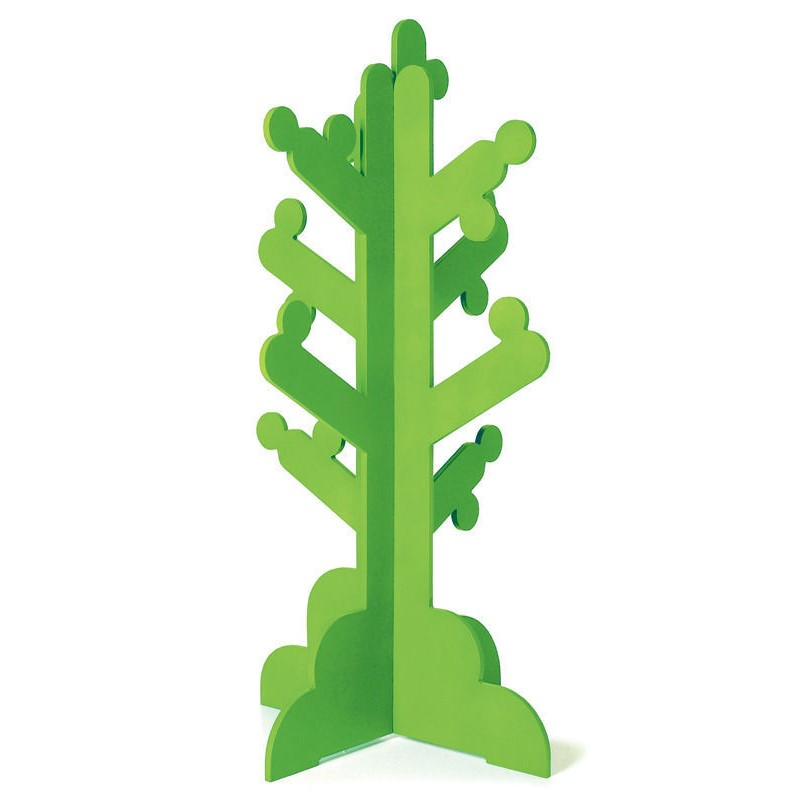 P'kolino Kid's Clothes Rack Coat Stand Tree Green