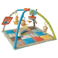 Go GaGa Foldable Baby Play Mat & Floor Gym Triangle