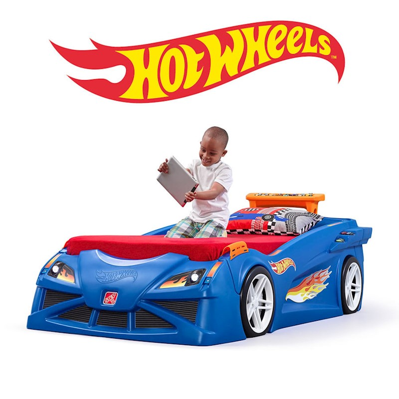 Hot Wheels Toddler To Twin Race Car Bed Buy Novelty Beds 7 33538