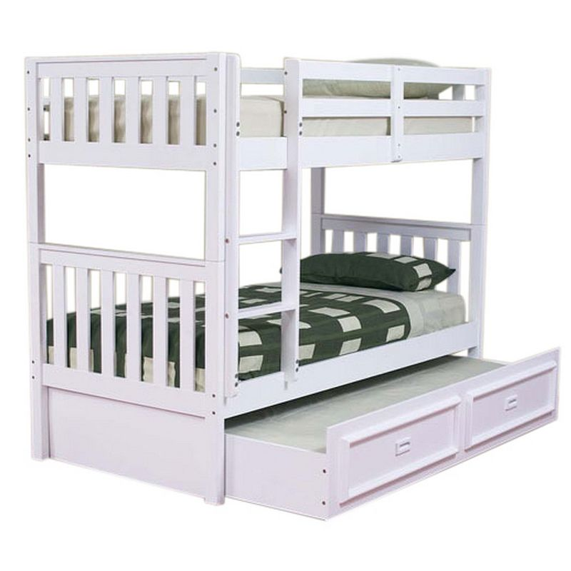 King single wooden beds : Jester king single pine wooden kids bunk bed white buy
