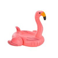 Giant PVC Inflatable Flamingo Pool Toy Float Pink