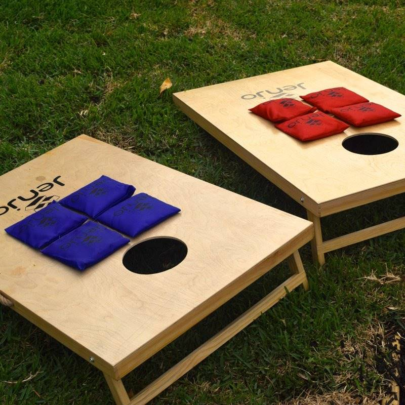 Outdoor Cornhole Boards Amp Corn Bags Toss Game Set Buy Sale