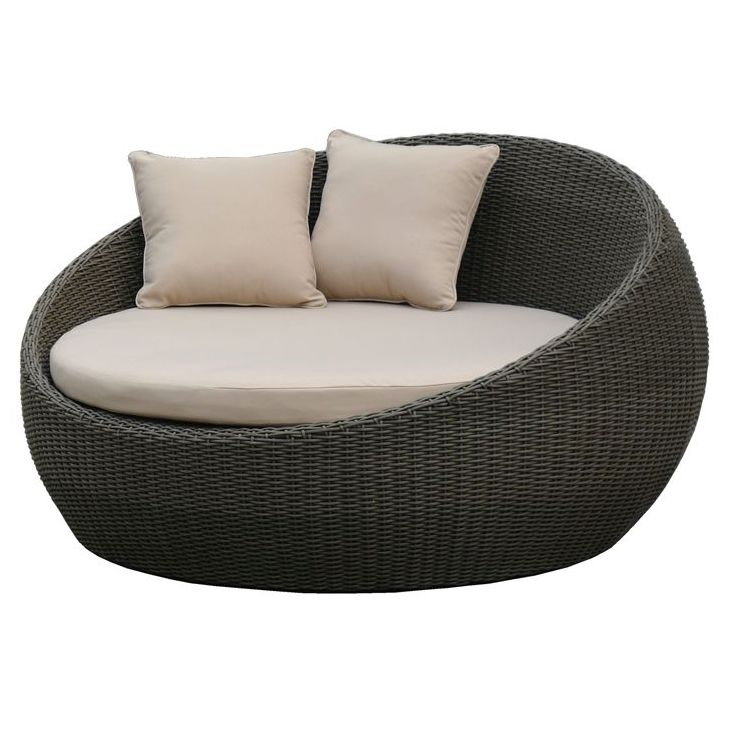 Newport Outdoor Wicker Day Bed Brushed Charcoal Buy
