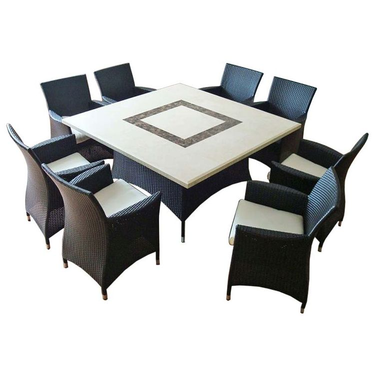 Caesar Stone Square Outdoor 8 Seat Dining Set Black Buy  : 120 CHARCOAL01 from www.mydeal.com.au size 750 x 750 jpeg 68kB