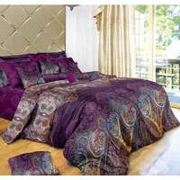 Aster Queen Size Polyester Doona Duvet Cover Set