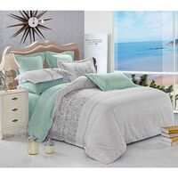 Wales King Polyester Quilt Doona Duvet Cover Set