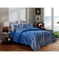 Blue Tree Super King Soft Polyester Quilt Cover Set
