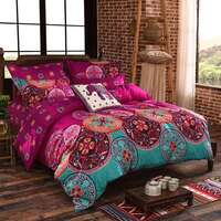 Medit Super King Polyester Fabric Quilt Cover Set