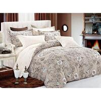 Shacha King Size Polyester Fabric Quilt Cover Set