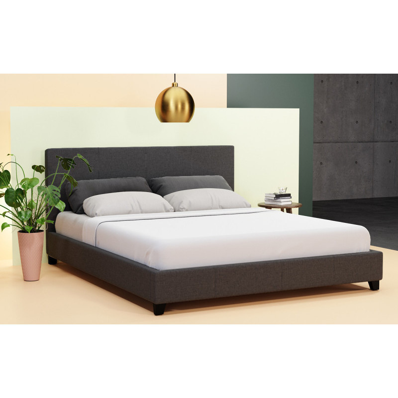 Hans Collection Fabric Upholstered Bed Frame Buy King Size Bed