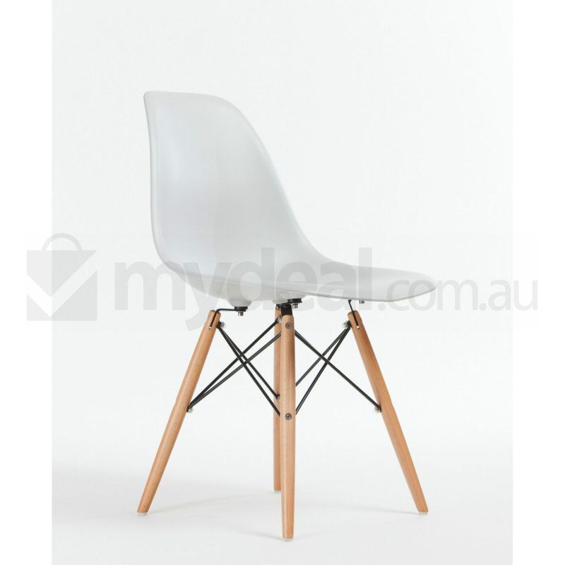 h m s Remaining  sc 1 st  MyDeal & 6 Pack Replica Eames Eiffel DSW Dining Chair White | Buy Sets of 6
