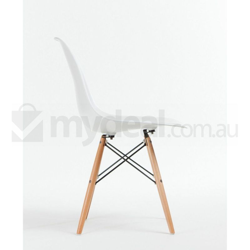 8 Pack Replica Eames Eiffel DSW Dining Chair White Buy Eames Dining Chairs