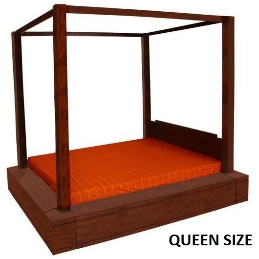 Amsterdam Queen 4 Poster Sunken Bed Frame Mahogany | Buy Queen Bed on incasing mattress bed frame, luxurious bed frame, platform bed frame, cozy bed frame, square bed frame, colored bed frame, recessed bed frame, deep bed frame, hollow bed frame, diy bed frame, floor bed frame, extreme bed frame, loft bed frame, tiled bed frame, island bed frame, west elm white bed frame, long bed frame, oversized bed frame, water bed frame, sloping bed frame,