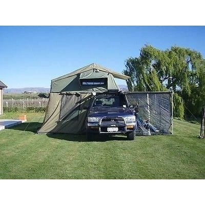 H M S Remaining Large Roof Top Tent With Awning