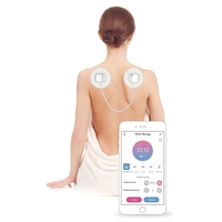 Wireless TENS Pain Relief Massager w Remote Control