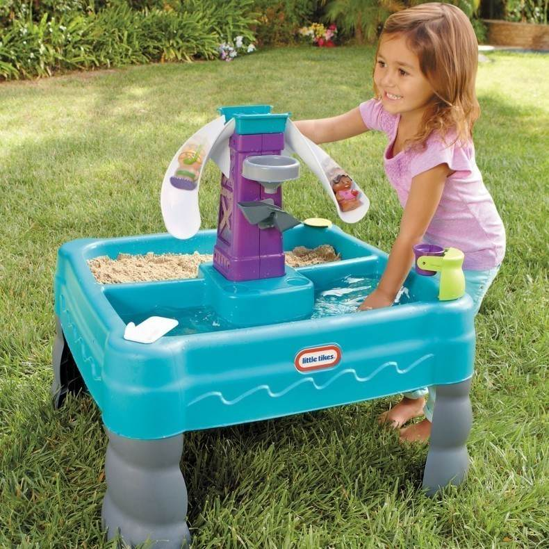Little Tikes Sandy Lagoon Kids Sand And Water Table Buy